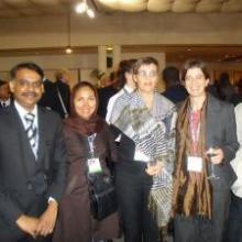 GCARD 2010 - Attaluri Srinivasacharyulu, Taraneh Ebrahimi, Simone Steiger, Valeria Pesce
