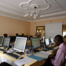 AgriDrupal workshop in Lusaka for ZAR4DIN