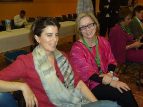 IAALD 2010, Montpellier - With Lisbeth