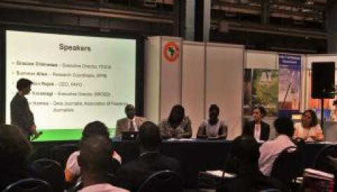 GODAN panel session at GFIA Africa. Photo credit: GODAN.